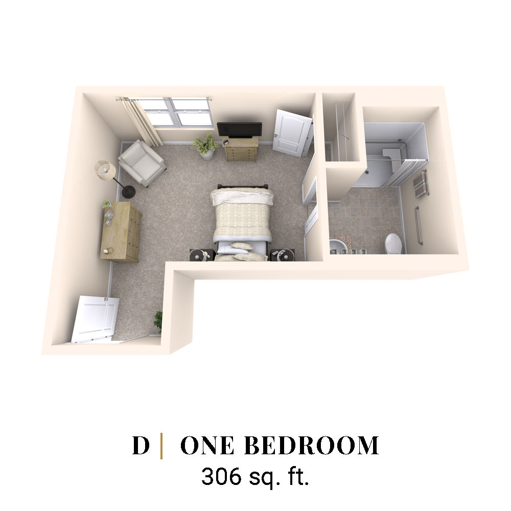 D | One Bedroom