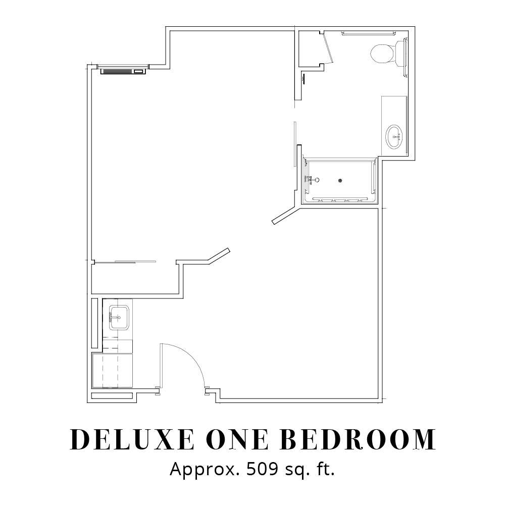 Deluxe - One Bedroom