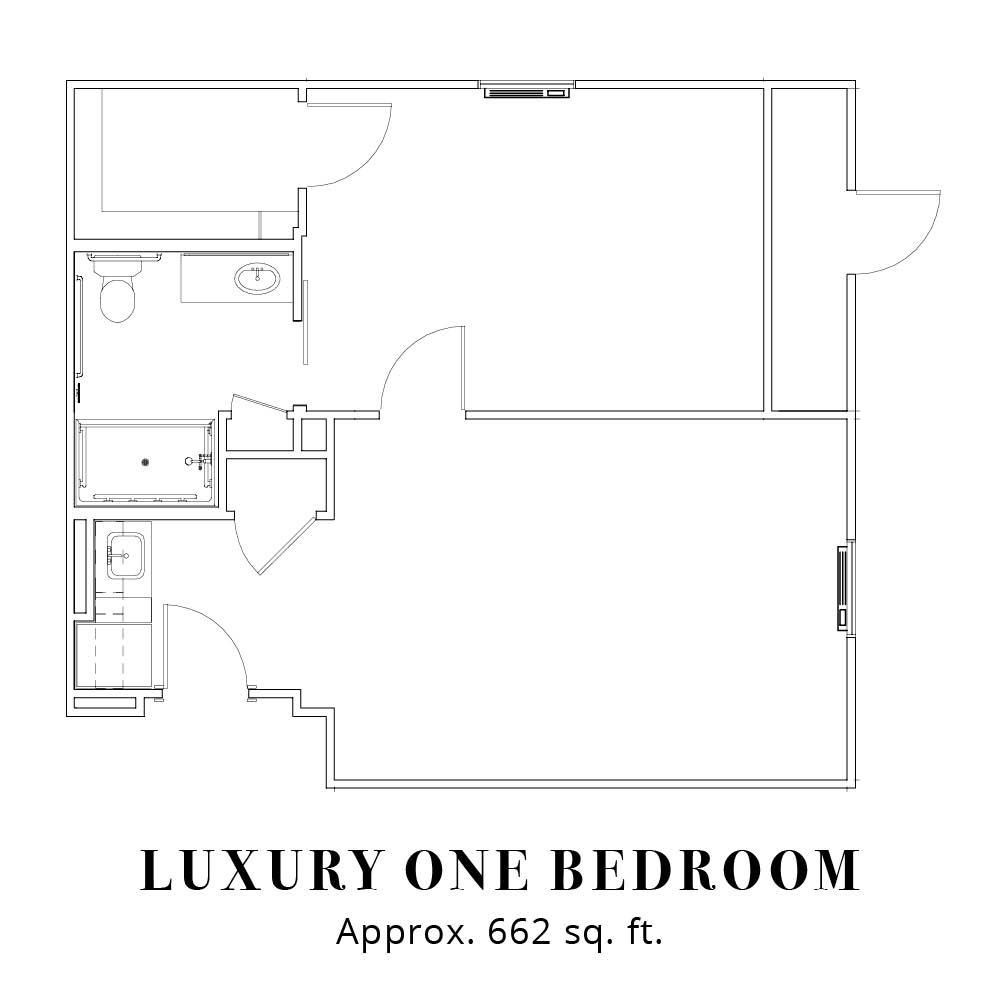 Luxury - One Bedroom