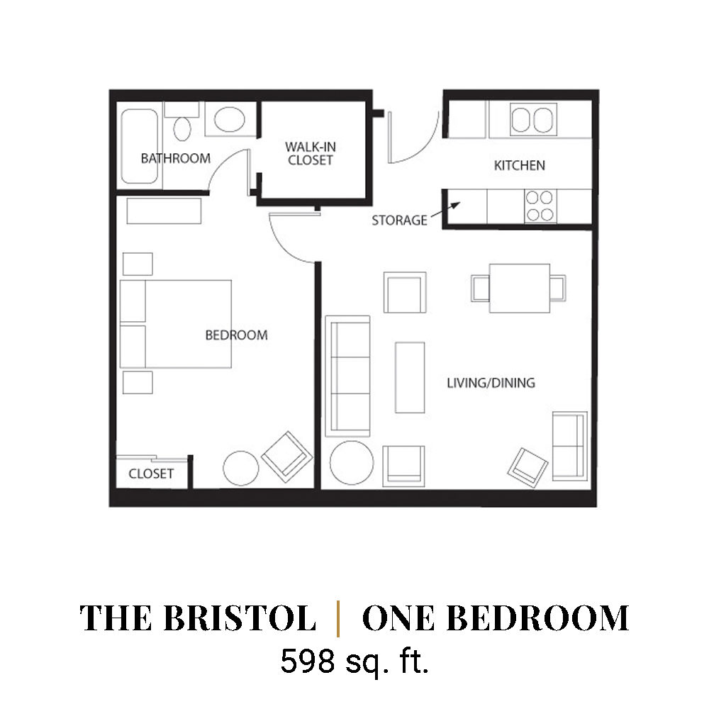 The Bristol | One Bedroom