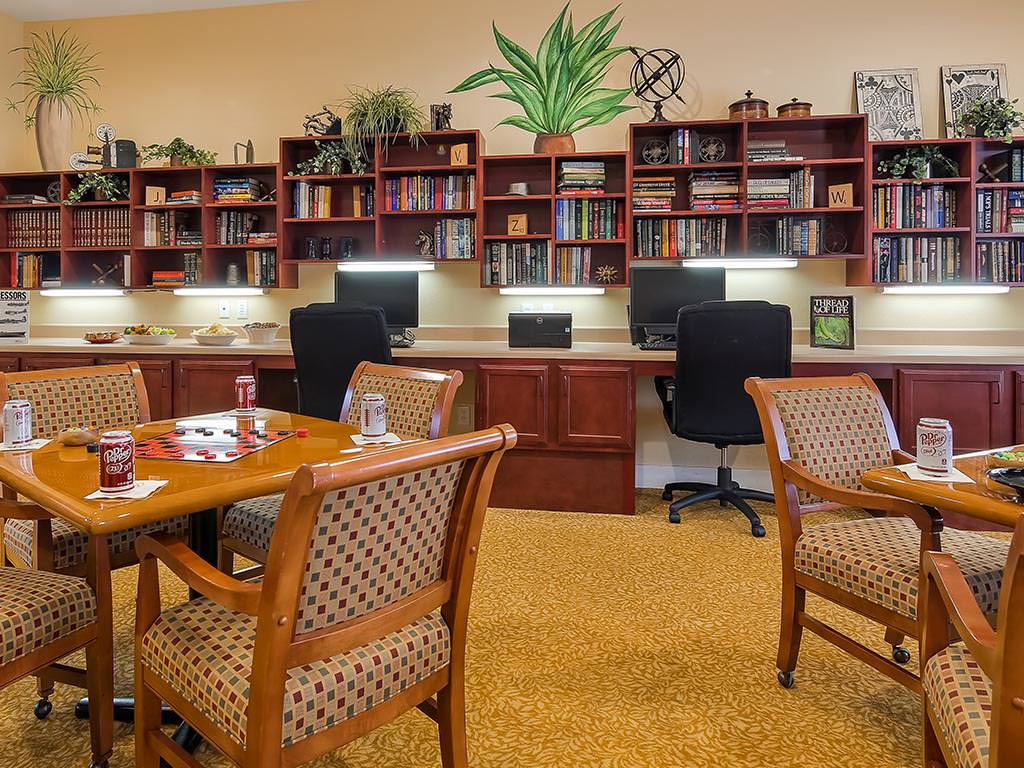 Activity Room and Computer Desks