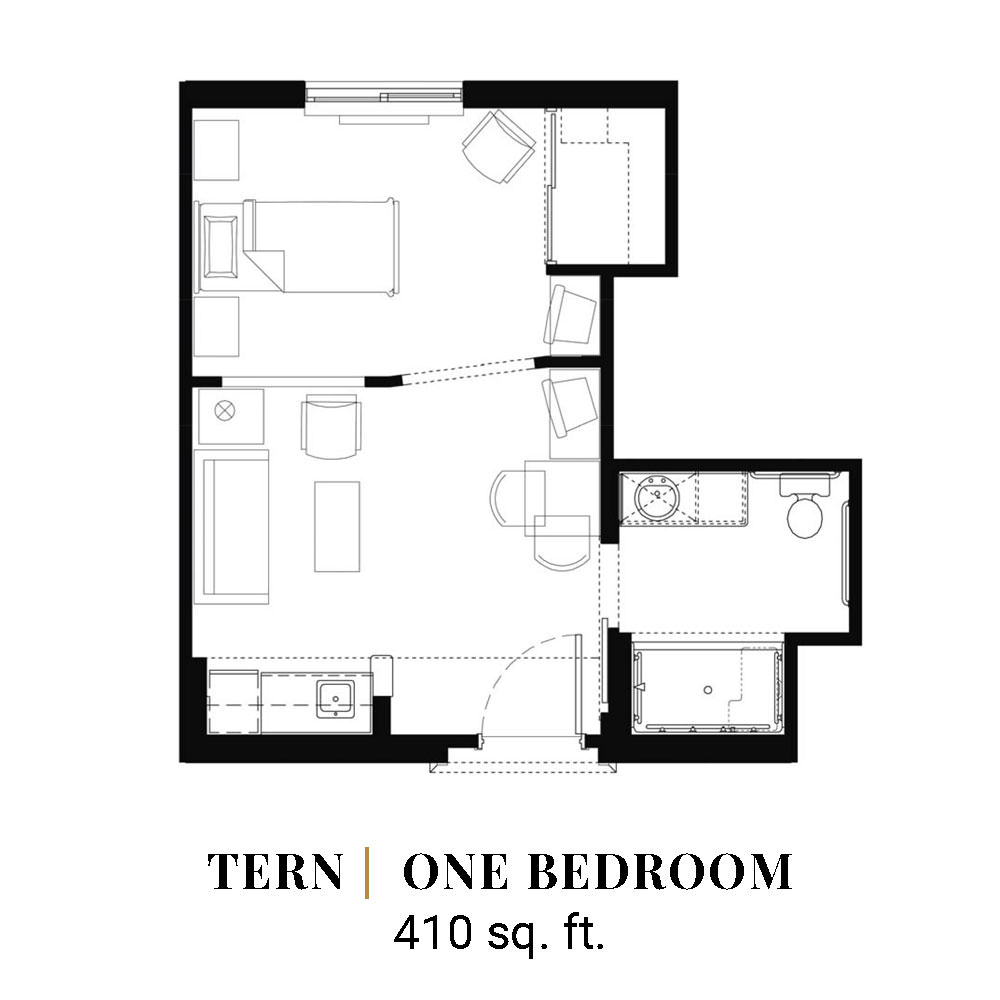 Tern | One Bedroom