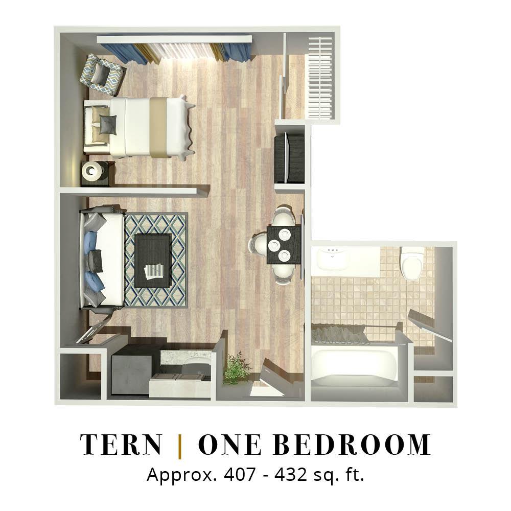 Tern | One Bedroom