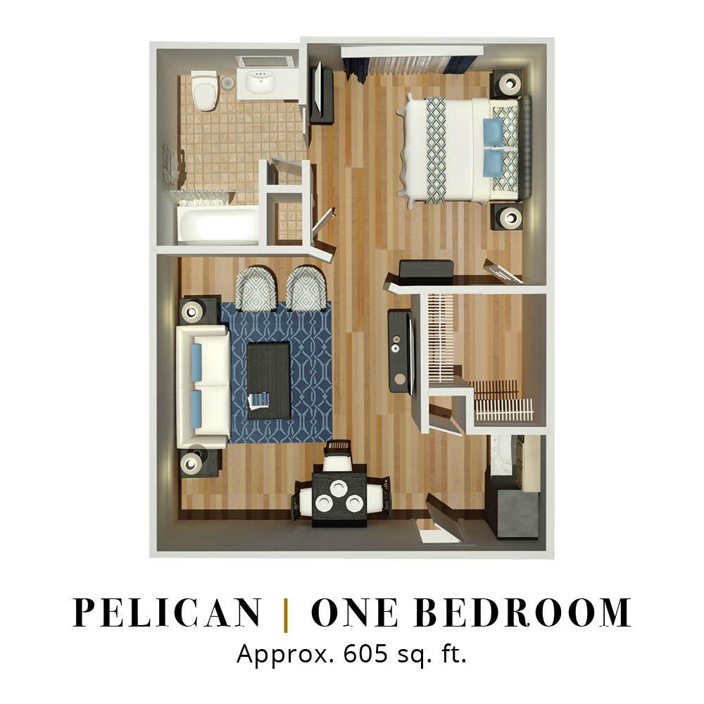 Pelican | One Bedroom