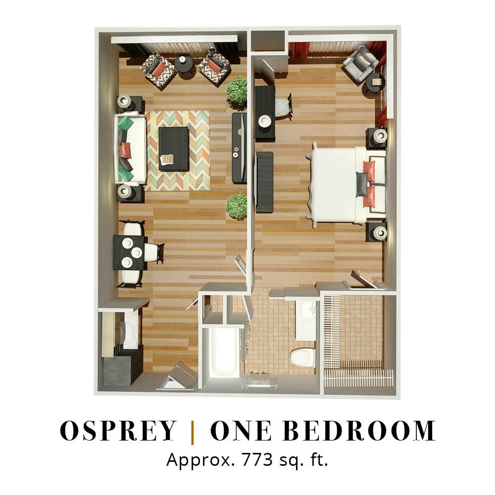 Osprey | One Bedroom