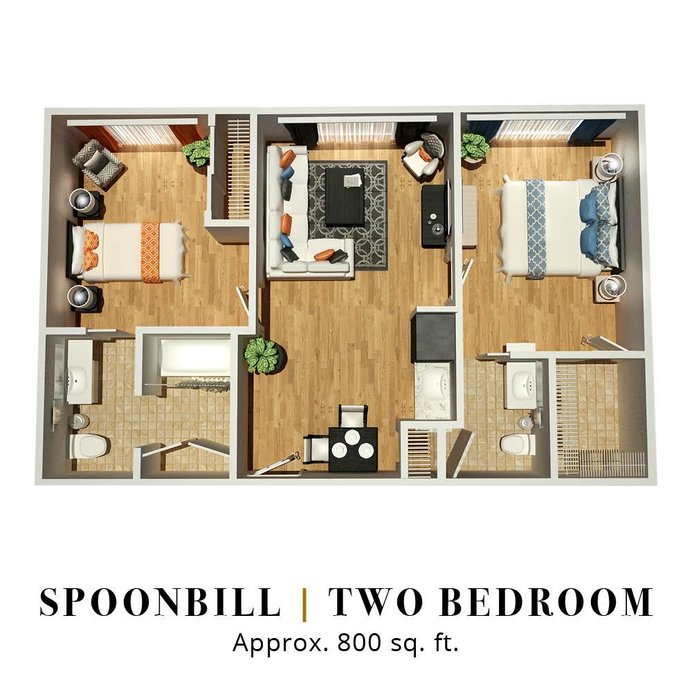 Spoonbill | Two Bedroom