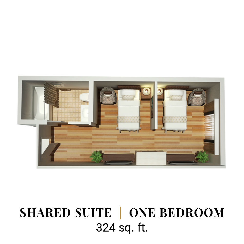 Shared | One Bedroom