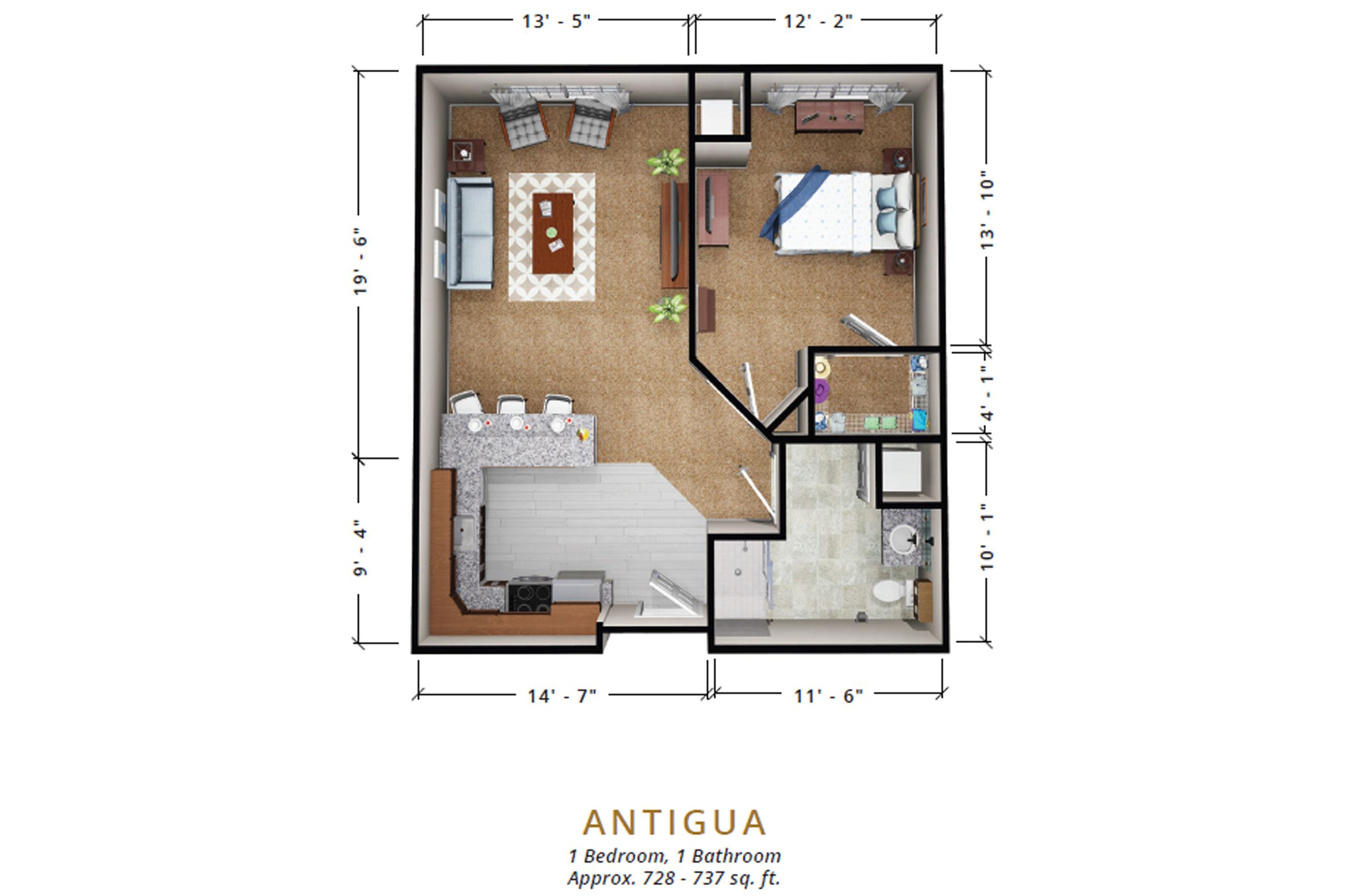 Antigua | One Bedroom
