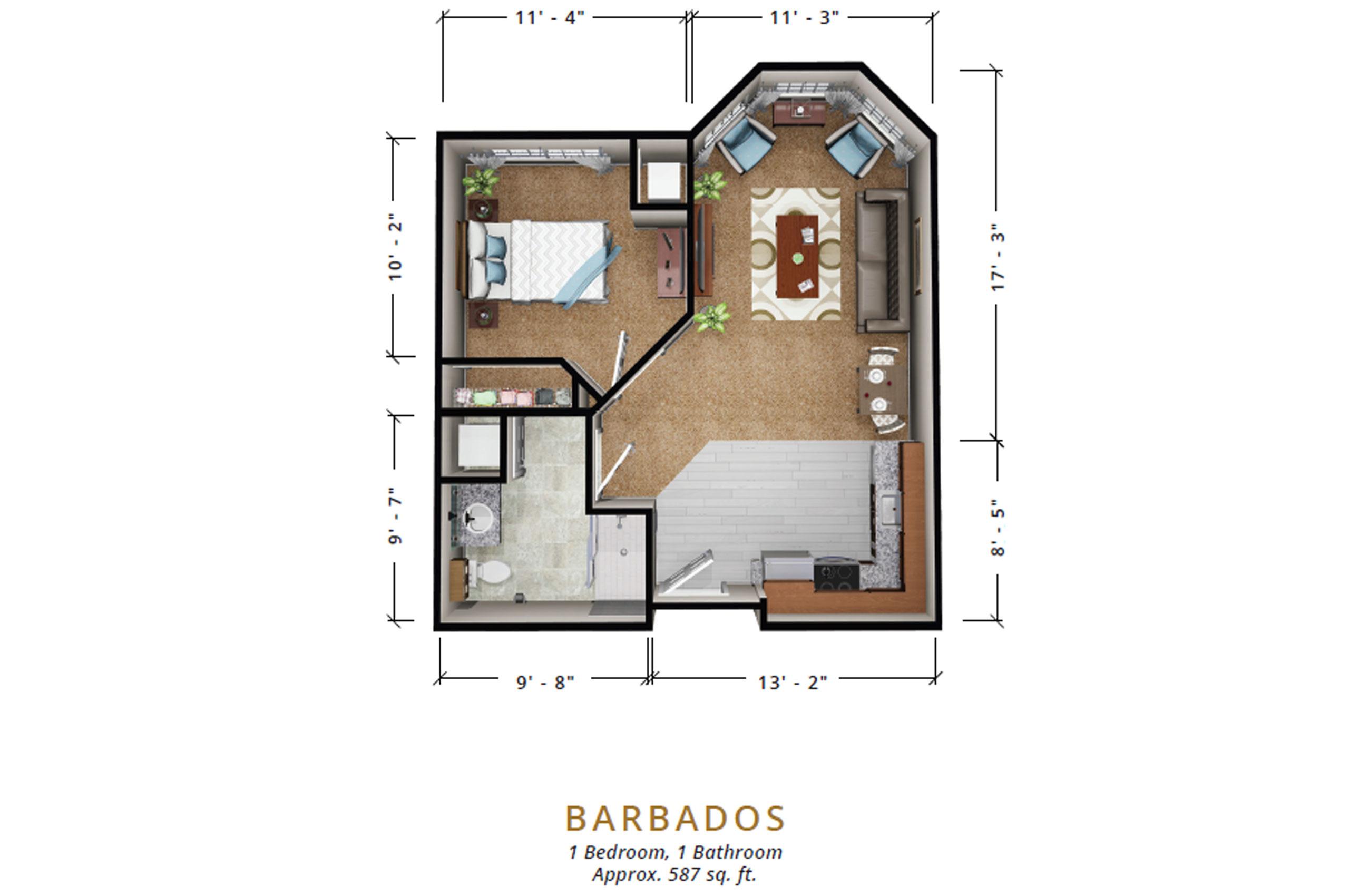 Barbados | One Bedroom