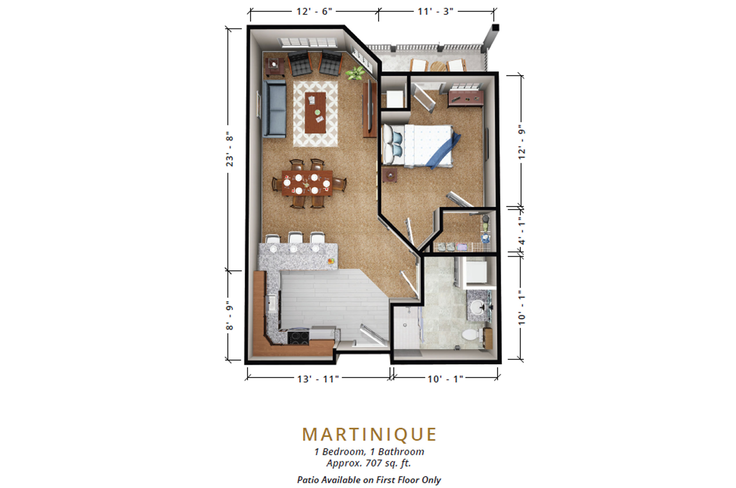 Martinique | One Bedroom