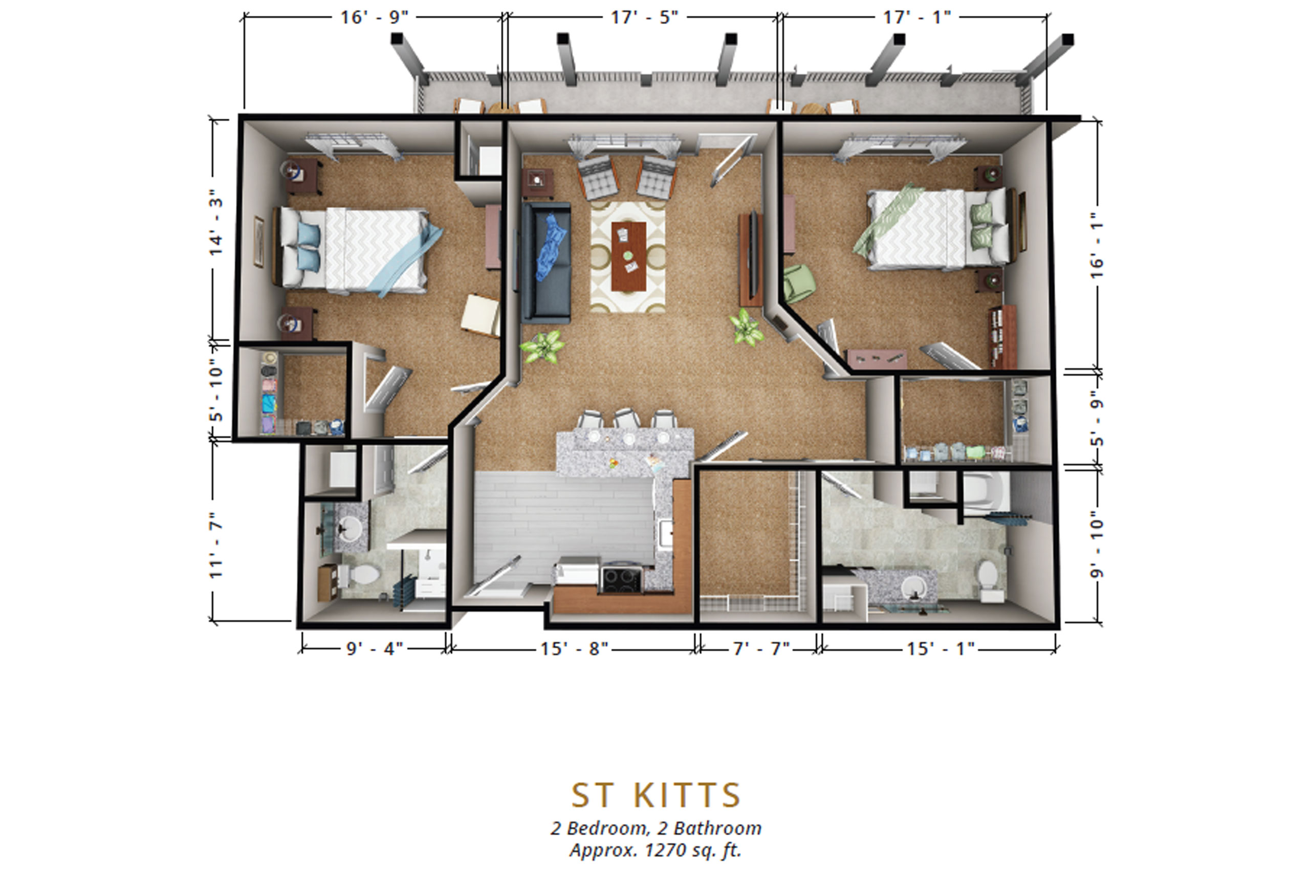 St Kitts | Two Bedroom