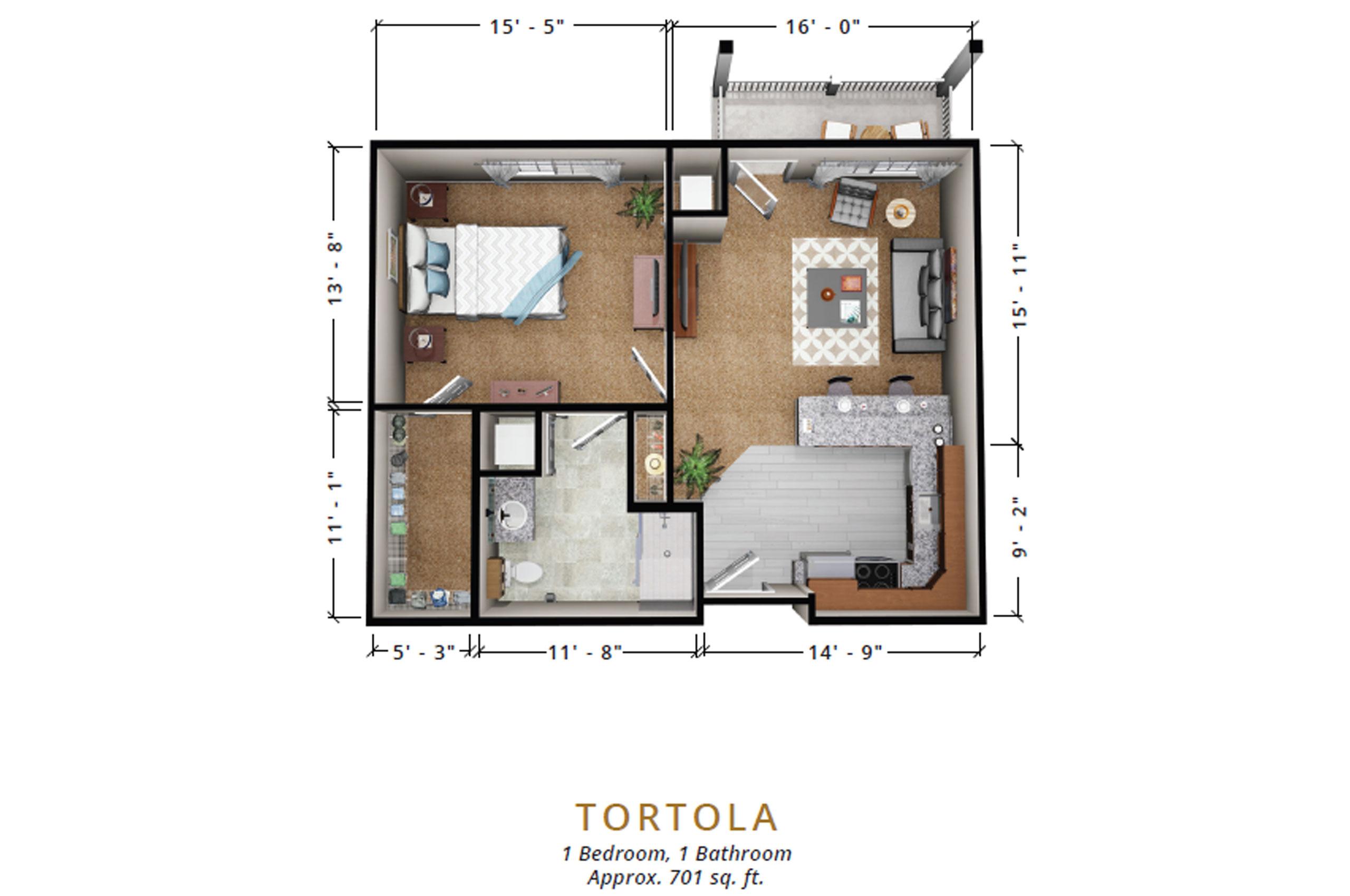Tortola | One Bedroom
