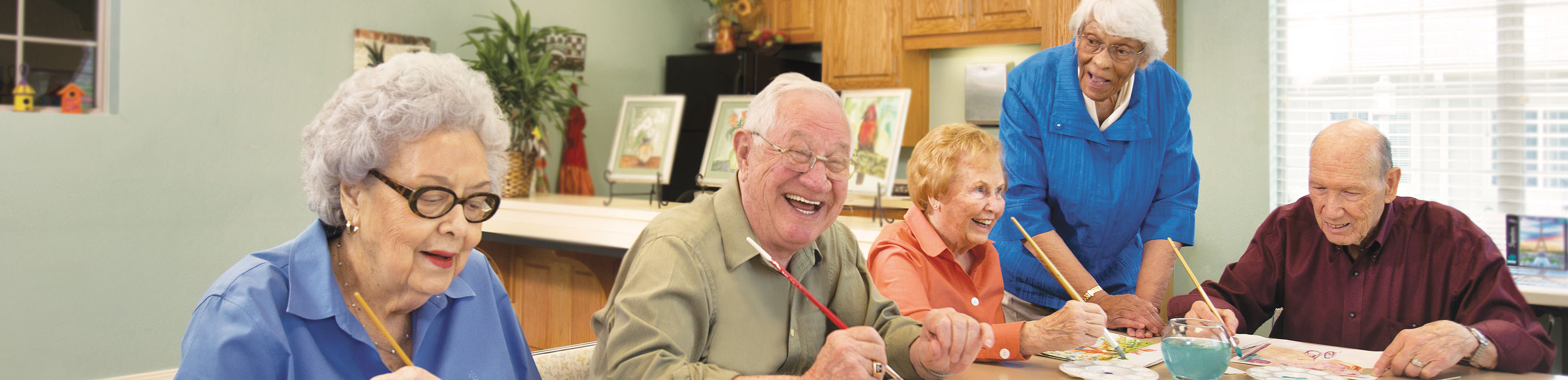 There's always something fun and interesting to do at Legend Senior Living.