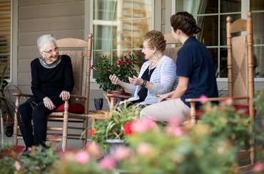 The fun, social environment of a Legend Personal Care residence makes living easy.